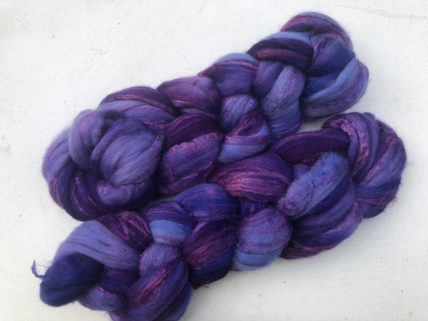 "Merino/Seide Kammzug ""purple"" MT/21/07"